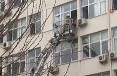 İzmir'deki Tepecik Eğitim ve Araştırma Hastanesi'nde yangın