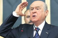 MHP Lideri Devlet Bahçeli: Küçük dillerini yuttular