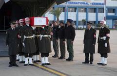 Şehit Temel'in cenazesi Trabzon'a götürüldü