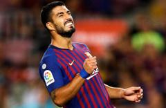 Barcelona'ya Suarez'den kötü haber