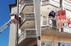 Elazığ'da bir apartmanda korkutan yangın! İçeride 5 kişi vardı