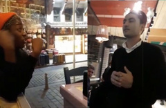 İstanbul Sirkeci'de utandıran anlar Afrikalı turisti kovdular