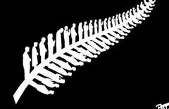Sanatçıdan manidar 'Yeni Zelanda' çizimi yapraklara dikkatli bakın