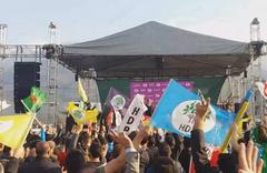 Bursa'da da CHP-HDP ittifakı boy gösterdi