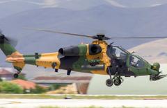 T 129 ATAK'a Brezilya'da coşkulu karşılama