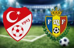 Türkiye Moldova maçı CANLI YAYIN