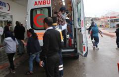 Adıyaman'da 50 öğrenci zehirlenme belirtisi ile hastaneye götürüldü