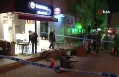 Bahçelievler'de çiğ köfteci dükkanına silahlı saldırı