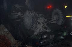 Hatay'da askeri araç devrildi: 5 asker yaralı