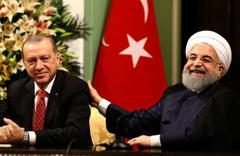 Ruhani'den Erdoğan'a tebrik mesajı