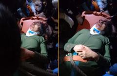 Mersin'de mağarada kuyuya düşen kadını itfaiye ekipleri kurtardı