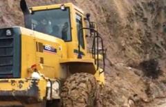 Bingöl Solhan'da toprak kayması