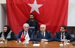 Mardin'de Artuklu ve Yeşilli başkanları göreve başladı