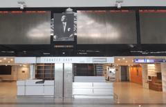 Atatürk Havalimanı'nı hiç böyle görmemiştik