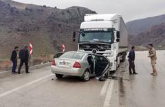 Sarıkamış'ta Okul müdürü trafik kazasında yaşamını yitirdi
