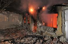 Ankara'da korkutan gecekondu yangını!