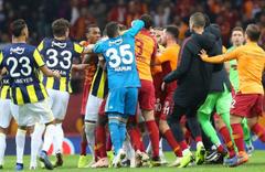 Beşiktaş, Galatasaray, Fenerbahçe ve Trabzonspor PFDK'ye sevk edildi