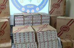 Ardahan'da 65 bin 500 paket kaçak sigara ele geçirildi