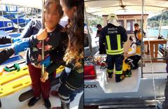 Muğla'da feci kaza: Demir korkuluk vücuduna saplandı!