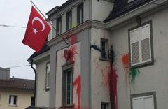 Türkiye'nin Zürih Başkonsolosluğu'na çirkin saldırı! 3 kişi gözaltında