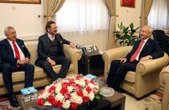 Hisarcıklıoğlu'ndan Kılıçdaroğlu'na ziyaret