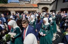 Saraybosna'daki Osmanlı mirası medrese 469'uncu mezunlarını verdi