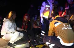 Adıyaman'da turist taşıyan minibüs devrildi: 13 yaralı