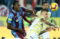 Fenerbahçe – Trabzonspor maçı özet ve golleri