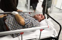 Aksaray polis okulunda korkutan kaza 2 yaralı