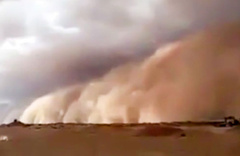 Irak'ta kum fırtınası can aldı: 5 ölü, 80 yaralı
