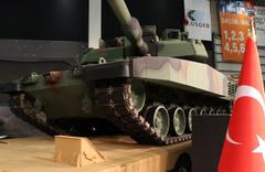 Milli ana muharebe tankı ALTAY görücüye çıktı