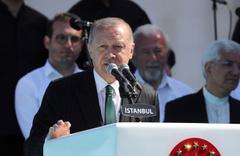 Cumhurbaşkanı  Erdoğan ALibeyköy Cami açılışında açıklamalar