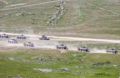 Türkiye ve Azerbaycan'dan savaş sahnelerini aratmayan tatbikat Nefes kestiler