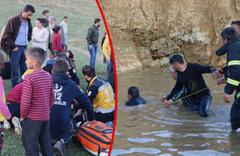Hakkari'de gölete giren amca çocukları boğuldu