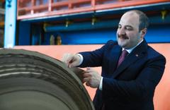 Balıkesir SEKA fabrikası'nda 19 yıl sonra ilk Bakan Mustafa Varank şahitlik etti