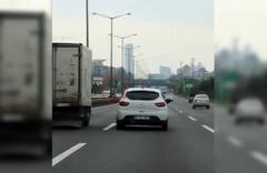İstanbul'da baltalı sürücü gözaltına alındı