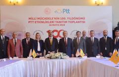 PTT'den Milli Mücadele'nin 100. yıl dönümü için çok kapsamlı kutlama hazırlığı
