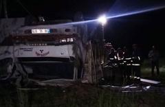 Van'ın Tuşba ilçesinde kaza: 5 ölü 37 yaralı