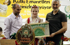 İHH İnsani Yardım Vakfı 15 ülkeden 50 yetimi İstanbul'da buluşturdu