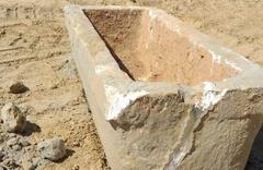 Hızlı tren inşaatında lahit mezar ortaya çıktı