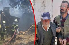 Tekirdağ Malkara'da yangın 2 evi kül etti