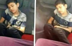 Üzeri kirli diye minibüste koltuğa oturtulmayan çocuk Erdoğan'a seslendi