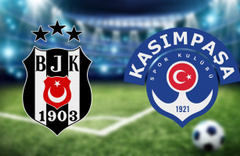Beşiktaş Kasımpaşa maçı CANLI YAYIN