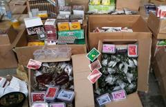 Operasyonlarda 12 bin 482 tütün mamulü ile 16 kilo tütün ele geçirildi
