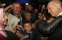 Erdoğan İBB'nin Yenikapı Etkinlik Alanı'nı ziyaret etti