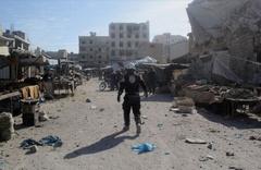 Esed rejimi pazara saldırdı 4 ölü 40'dan fazla yaralı