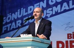 """Süleyman Soylu İstanbul'daki """"tezgahı"""" anlattı"""