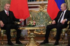 Cumhurbaşkanı Erdoğan ile Putin İdlib'i görüştü