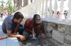Muğla'da okulun bahçesinde tesadüfen 2 bin 300 yıllık yazıt bulundu