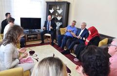Kılıçdaroğlu'ndan hayatını kaybeden işçilerin ailelerine taziye ziyareti